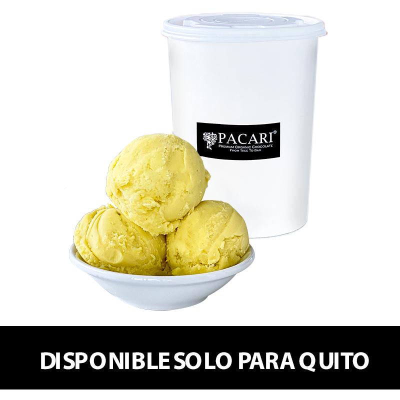 helado vegano pacari